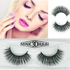 Kilimall Kenya 5th 1 pairs of 3D Gracious Makeup Handmade False natural FBK eyelashes Extension 008