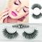 Kilimall Kenya 5th 1 pairs of 3D Gracious Makeup Handmade False natural FBK eyelashes Extension 008