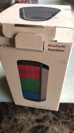 I-TOW Wireless Bluetooth Portable Speaker with coloured lights/BEST VOICE black CM