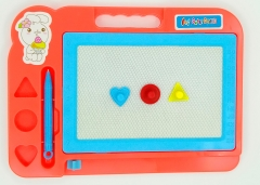 Children's magnetic writing board, drawing board, handwriting board, baby toys 4 red big