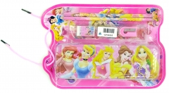 Cute Cartoon Pencil Case for Kids ,Children Pen Box and pencil ,School Stationery Supplies Gift Disney Princess(pink)