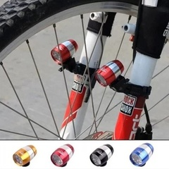 Cycling Bicycle Waterproof Head Front Light Warning Lamp Night Light Lamp Bike Light Warning Lamp blue one size