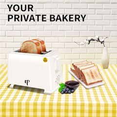 KP 6 Month Warranty Bread Toaster Pop Up Electric Sandwich Toaster Bread Maker 2 Slice 750W white one size