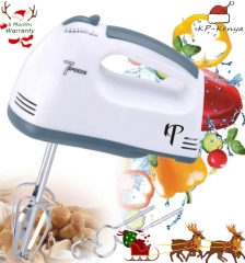 6 Months Warranty KP Electric Hand Mixer Egg Beater Automatic Mixer White