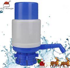 Bottled Hand Pressure Type Manual Pressure Water Pump Dispenser Blue&White