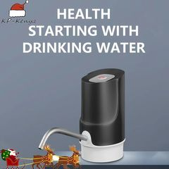 Wireless Electric Pump Household Electric Water Dispenser Black
