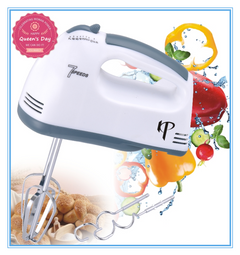 KP 6 Months Warranty Electric Hand Mixer Automatic  Egg Beater Blender Kitchen appliances White