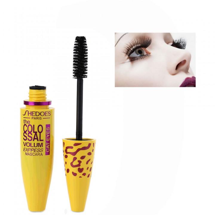 Slim Dense Cosmetic Extension Length Long Curling Eyelash Makeup Black Mascara