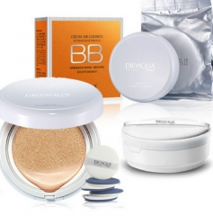 Air Cushion BB Cream SPF50 Sunscreen Concealer Moisturizing Foundation Makeup Bare Ivory