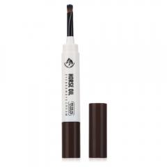 Waterproof Beauty Makeup Eyebrow Cream Mascara Gel with Brush 2#