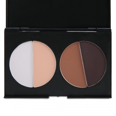 4 Colors Tender Sleek Makeup Face Contour Kit Matte Pressed Powder