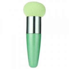 Liquid Cream Foundation Concealer Mushroom Head Sponge Brushes Green