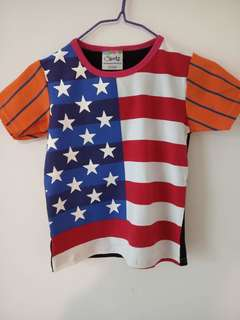 Baby Clothes Boys Tee Shirt 3 Colors Short Sleeve Shirts Tops Kids Boy Clothing USA 90 cotton KS3 12-36months 90% cotton