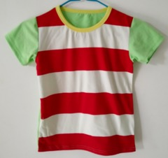 Baby Clothes Boys Tee Shirt  Short Sleeve Shirts Tops Kids Boy Clothing 90 cotton Red Black ks1 12-36months 90% cotton