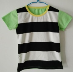 Baby Clothes Boys Tee Shirt  Short Sleeve Shirts Tops Kids Boy Clothing 90 cotton Red Black ks2 12-36months 90% cotton