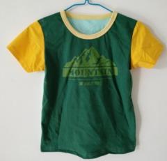 Baby Clothes Boys Tee Shirt 3 Colors Short Sleeve Shirts Tops Kids Boy Clothing 90 cotton Green ks1 12-36months 90% cotton