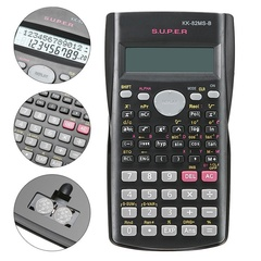 Handheld Student's Calculator 2 Line Display Portable Multifunctional Calculator for Mathematics
