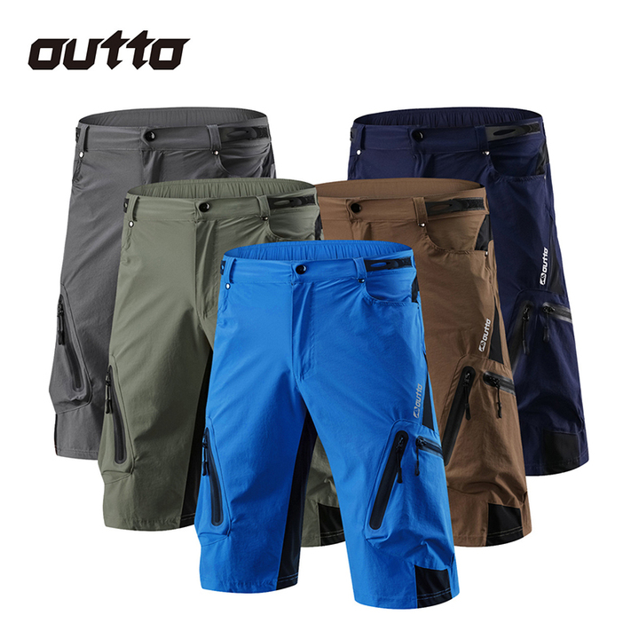 Men's Shorts Sports Ropa Breathable Cycling Running Loose Fit Shorts navy m