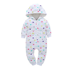 New Baby Costume Cute Camo Baby Jumpsuit Coat for Baby Boy Clothes Fleece Outfit Infant Jacket P001 6M