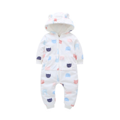 New Baby Costume Cute Camo Baby Jumpsuit Coat for Baby Boy Clothes Fleece Outfit Infant Jacket P013 12M