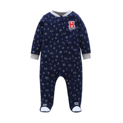 Infant Baby Boys Clothes Long Sleeve Winter Warm Wear Roupa De Bebes Newborn Baby Rompers Clothing h001 9m