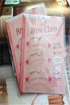 Eyebrow card Transparent