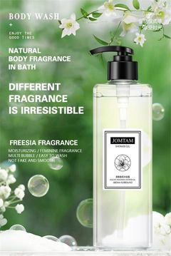 Perfume shower gel clean and clean shower gel moisturizing lasting fragrance Transparent