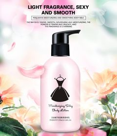 Body milk tender and moisturizing body wash Milky white transparent