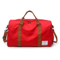 Fashion New Fitness Bag Leisure Sports Bag Travel Bag Handbag red one size