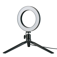 Dimmable LED Ring Light Photo Studio Video Light Annular Lamp with Tripod Makeup beauty LED+Tripod LED+Tripod as shown