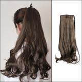 Women Long Curly Wavy Wig Ponytail Wig Hair Hairpiece Extension One size 1pc