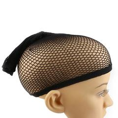 La vis Elastic Wig Cap Top Hair Wigs Fishnet Liner Weaving Mesh Stocking Net for Women Men One size 1pc