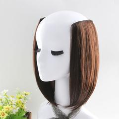 1Pc 2 Clip In Hair Extensions Straight Pretty Woman Girl Wig Hair Greatsell One size 1pc