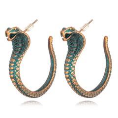 Earrings for Women Men Jewelry European Vintage Animal Ear Stud Handmade Mens Unisex Stud Earings one size 1