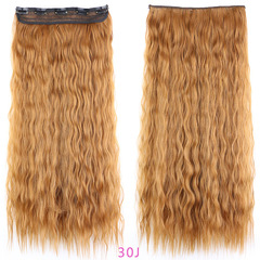 Extension Synthetic Natural Hair Water Wave Blonde Black wigs 30J 1