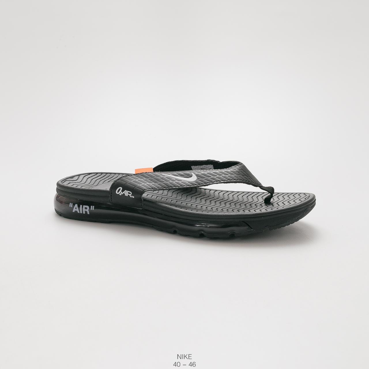 official photos 70818 00d64 NIKE Original Men's Air Cushion Sandal Slippers Adults black 40
