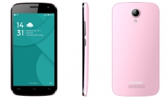 DOOGEE X3 Back Case Pink One Size