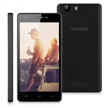 DOOGEE X5, 5.0'', Android 5.1, 1GB RAM + 8GB ROM Smartphone Black