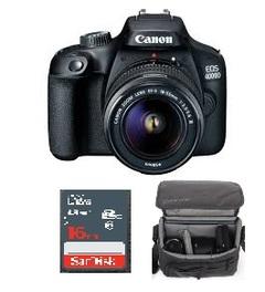 CANON 4000D+ 16GB MEMORY CARD +BAG