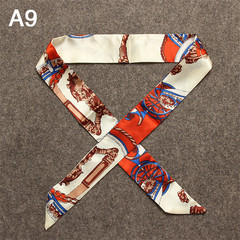5pcs/10pcs Women's silk Scarves Hot Sale Scarf Brand Bag Ribbons China-Africa Cultural Bridge gift 10 pcs mix