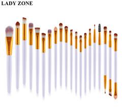 20Pcs Makeup Tool/ Brush Powder Brush/Eye Shadow Brush/Eyebrow Brush/Lip Brush Makeup as picture