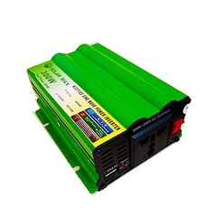 300W SOLAR POWER INVERTER 12v Green 16.8x9.2x3.4