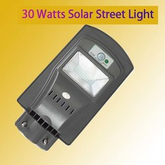 30 WATTS SOLAR GARDEN/STREET LIGHT blue & grey 32X20.5 30