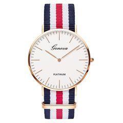 Hot Sale Nylon strap Style Quartz Women Watch Top Brand Watches Fashion Casual Watch Relojes 003 4*1*35cm