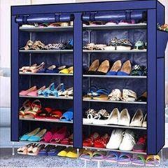 Shoe Rack - Navy Blue random