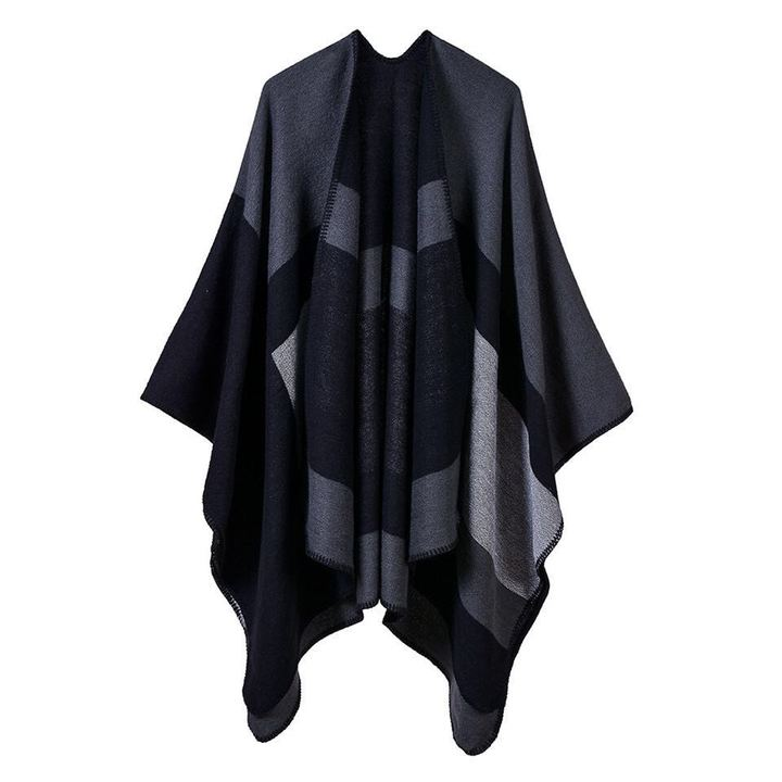 2019 Women Cashmere Scarves Lady Thicken Warm Soft Pashmina Shawls Wraps Wool Long Scarf 4