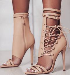 Summer Women Pump High Heel Open Toe Ziper Platform Wedding Office Ladies Sandal Shoes 1 6