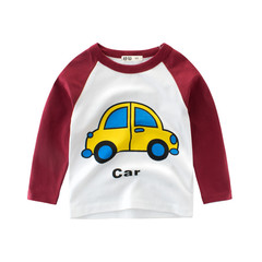 Autumn Winter Baby Boy Cute Clothing 2019 Fashion Pullover Sweatshirt Top Baby Toddler Boy Outfit 1 90