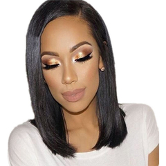 Synthetic Wigs New Fashion Hair Wigs Women Wigs Hair Straight 14inch black 14inch black 14 inch