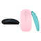 Universal Wireless Mouse 2.4G with USB Receiver, Universal Computer Mouse / Pink / Blue / Black black 11cm-6cm-2cm
